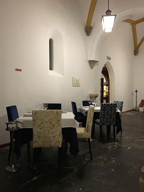 Evora POSADA レストラン