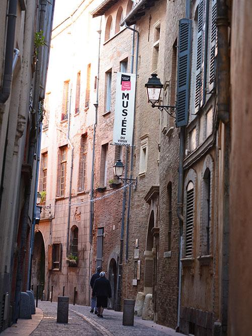 トゥールーズの旧市街