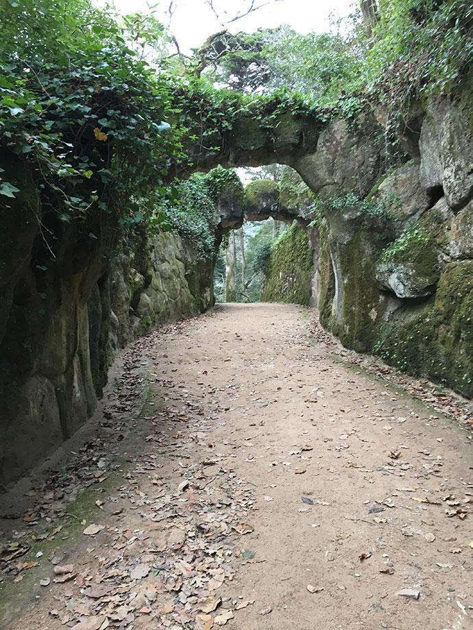 レガレイラ宮殿の庭園