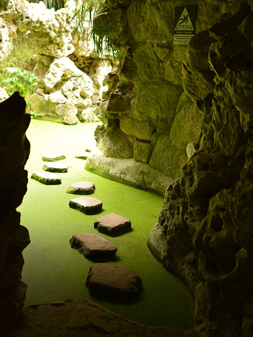 レガレイラ宮殿の洞窟