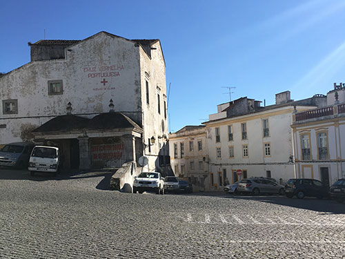 Elvasの駐車場