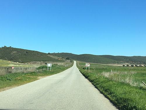 アレンテージョ地方の風景