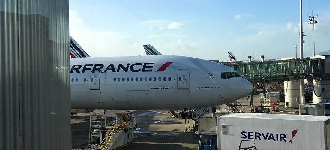 Flight delay - Air France