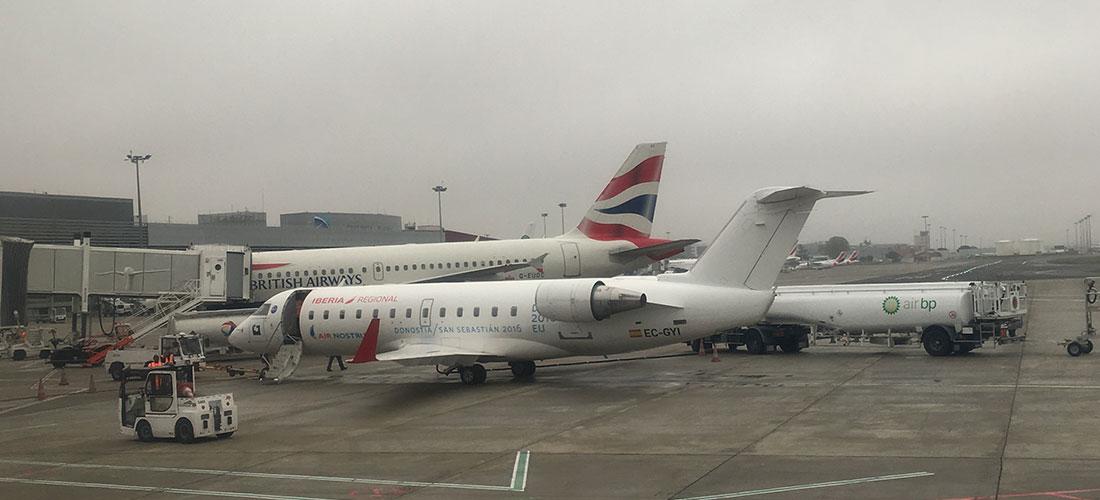 Air France遅延