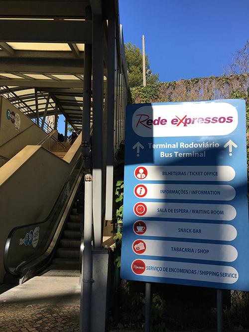 地下鉄駅からセッテ・リオス・バスターミナルまで