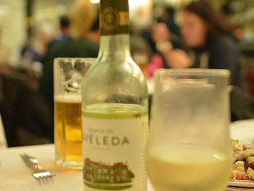 リスボンのシーフードレストラン