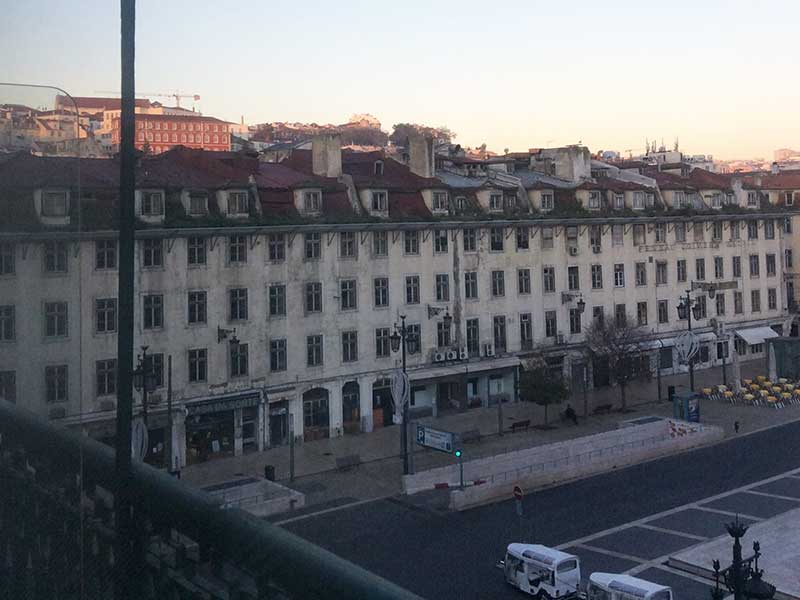The Beautique Hotel 部屋の窓からの眺め