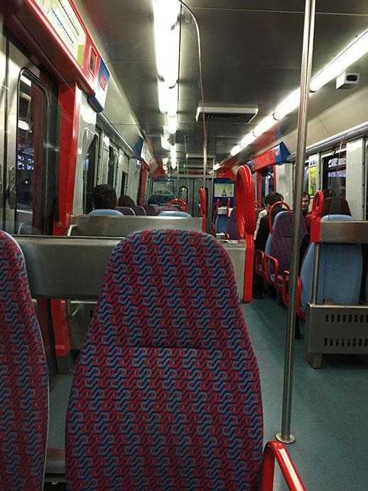 シントラ行きの列車