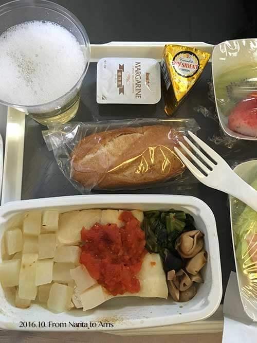 KLMオランダ航空機内食(特別食)