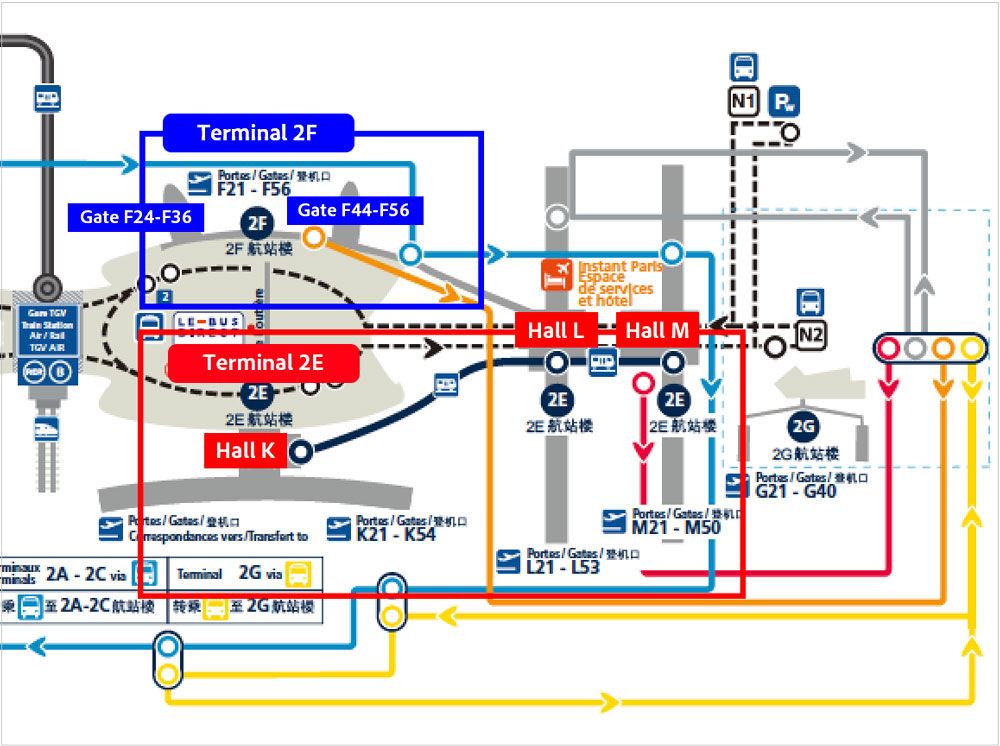 シャルル・ド・ゴール空港ターミナル2