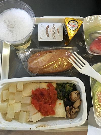 Air France特別食2016年10月