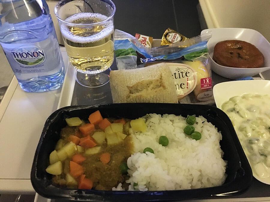 エールフランス航空機内食2018.8月