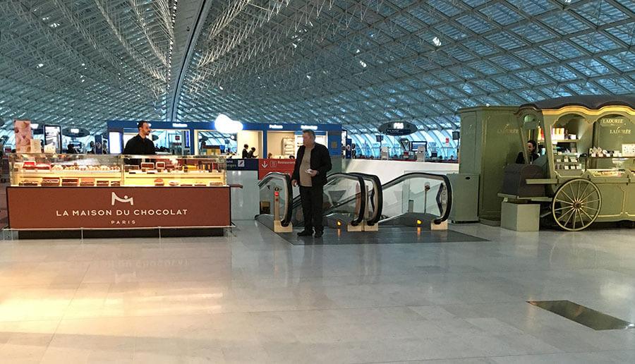 シャルル・ド・ゴール空港にあるメゾン・ド・ショコラ