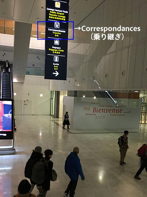 シャルル・ド・ゴール空港乗り換え