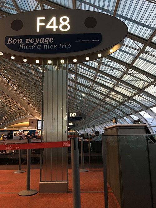 シャルル・ド・ゴール空港 ターミナル2F