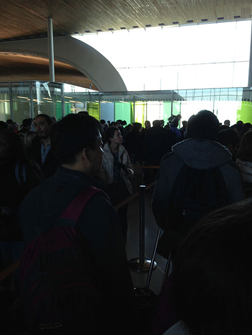 シャルル・ド・ゴール空港 保安検査