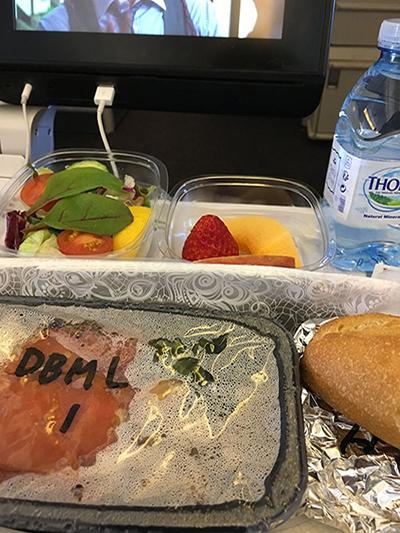 KLMオランダ航空特別食
