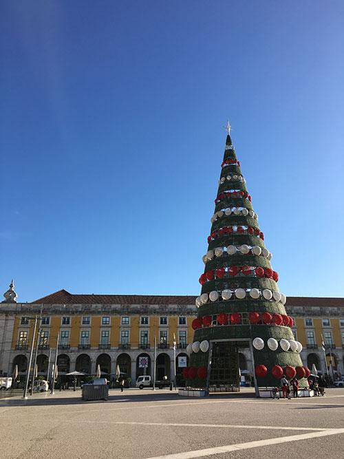 リスボン コメルシオ広場