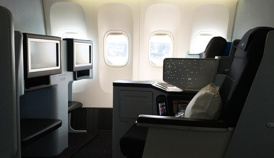 KLMオランダ航空ワールドビジネスクラス