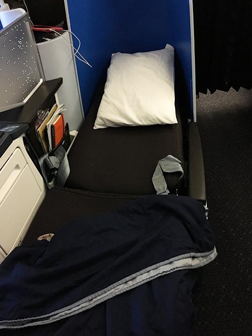 KLMオランダ航空ビジネスクラス設備