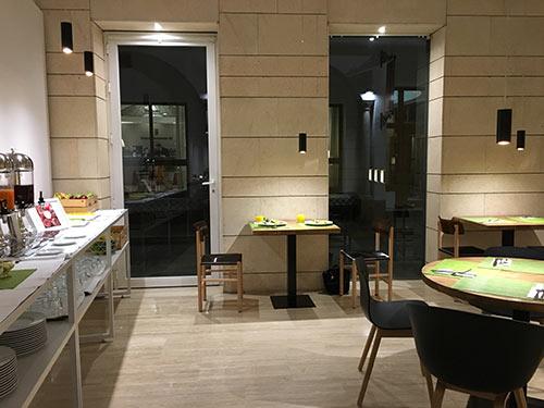 Sevillia ホテルでの朝食