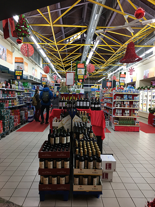 トレドのスーパーマーケット