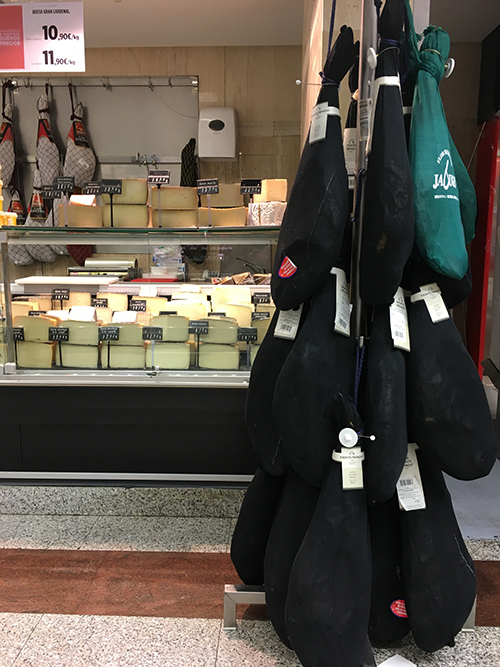 マラガのスーパーマーケット