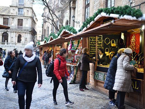 トレドのクリスマス・マーケット