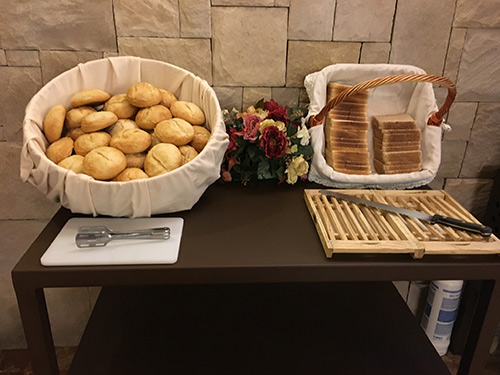 Hotel Alfonso VI - 朝食