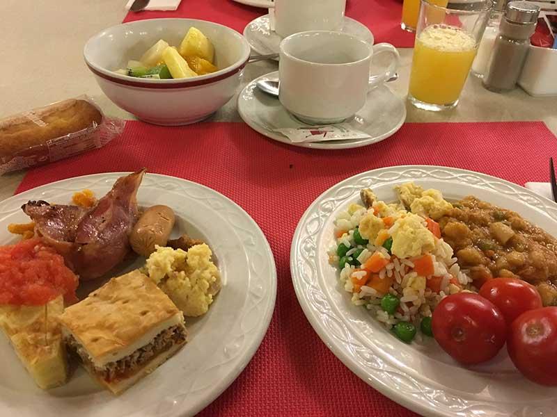 ホテル セルコテル アルフォンソ VI(Hotel Sercotel Alfonso VI)の朝食