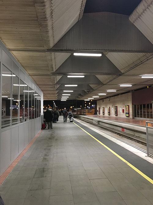 renfeのバルセロナ空港駅
