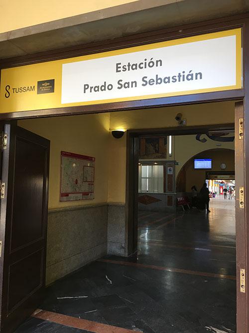 Sevilliaのバスターミナル