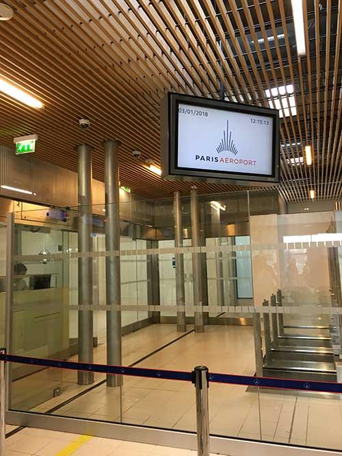 シャルル・ド・ゴール空港ターミナル2Fから2Eへ移動