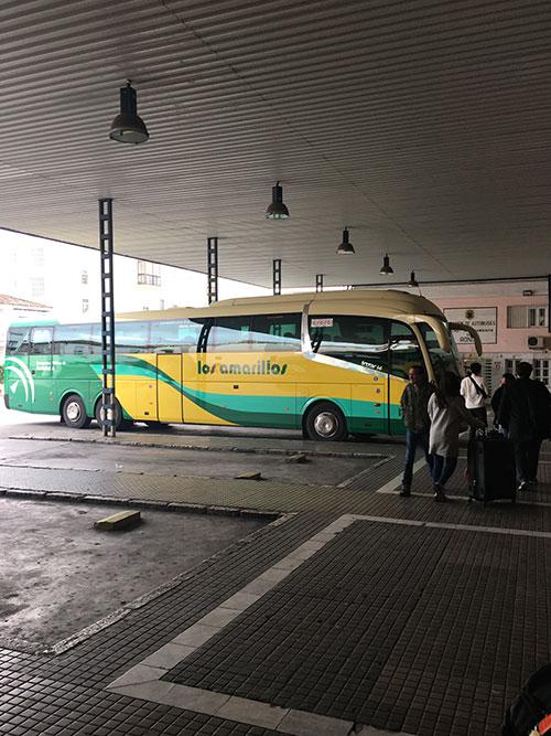 ロンダのバスターミナル