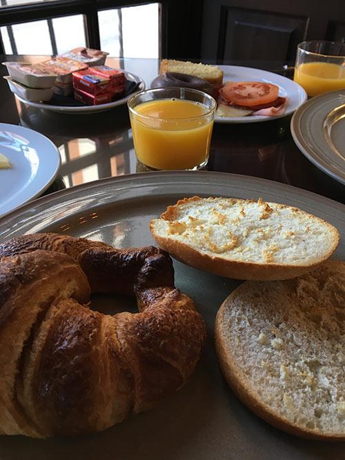 El Poeta de Rondaの朝食