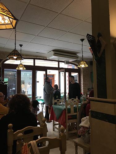 ロンダ新市街のレストラン