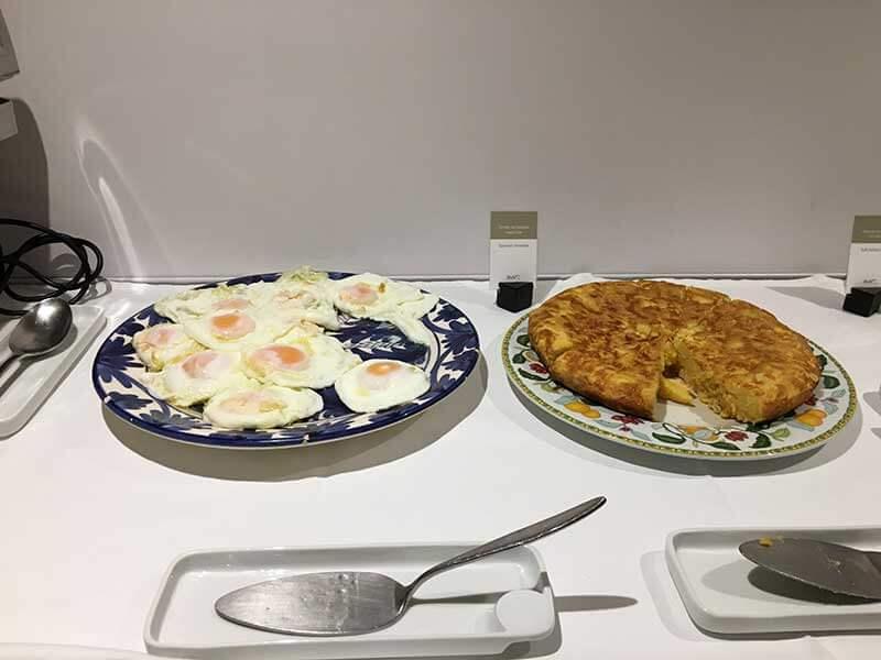 Hotel Rey Alfonso Xの朝食