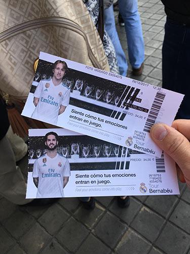 サンティアゴ・ベルナベウスタジアム