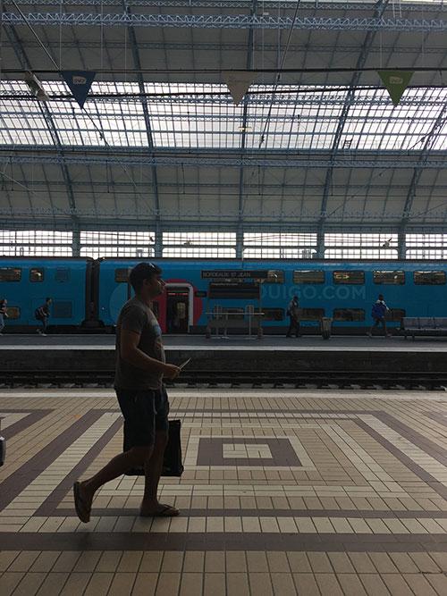ボルドーのサン・ジャック駅