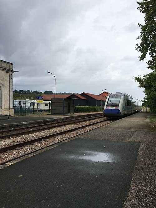 サンテミリオン駅