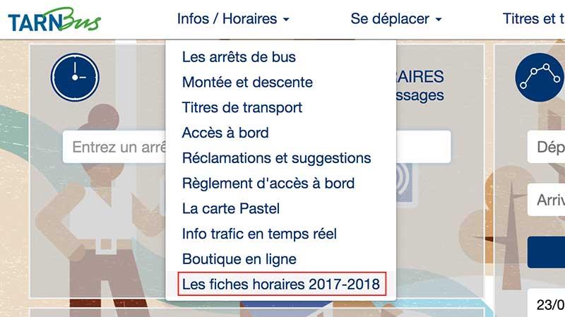 タルンバス時刻表