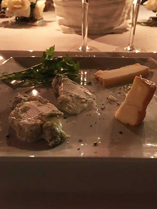 La Maison Bakea のディナー