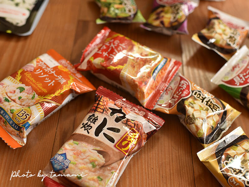 海外旅行に持参する非常食