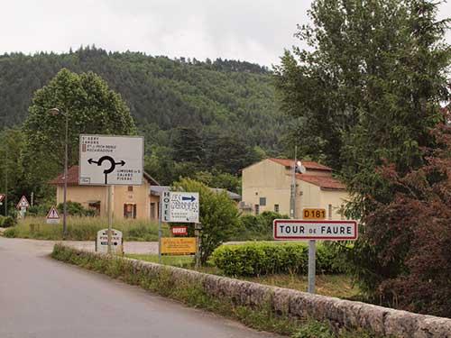 Tour de Faureの街