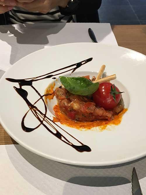 サンテミリオンで入ったイタリアンレストラン