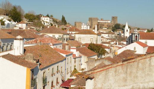 リスボンから日帰りで行く!城壁に囲まれた中世の面影を残す可愛い村オビドスは城壁の上からの眺めがいい