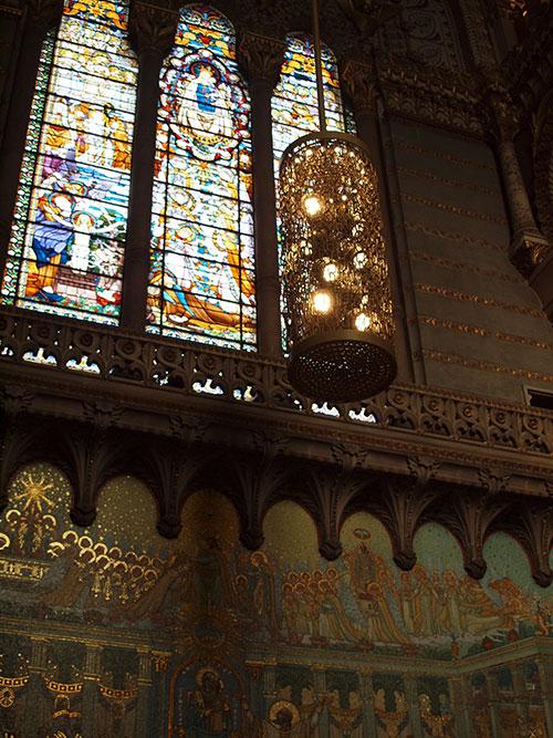 フルヴィエールの丘の大聖堂