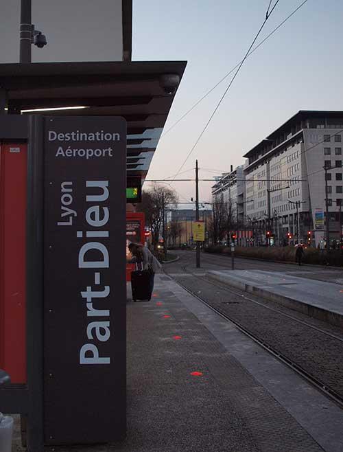 リヨンパール・デュー駅