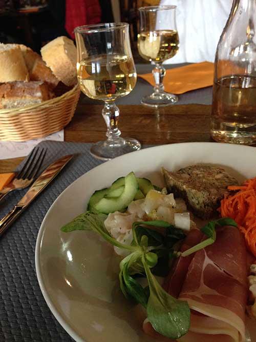 ペルージュのレストランLe Relais de la Tour