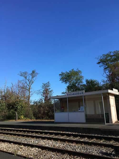 ロカマドゥール駅(Rocamadour-Padirac)
